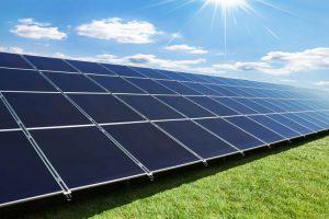 نیروگاه خورشیدی صفحه