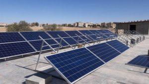 نیروگاه خورشیدی پنج کیلوواتی