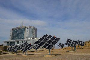 نیروگاه خورشیدی یک مگاواتی